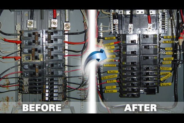 electrical panel gallery perfect electric south florida rh perfectelectricrepairs com electrical junction box wiring electrical distribution box wiring