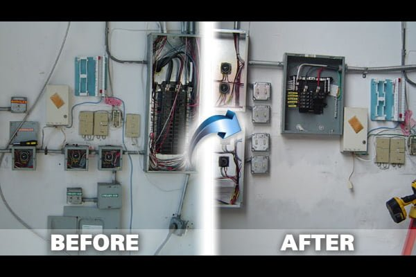 Electrical Panel Gallery   Perfect Electric South Florida